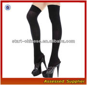 Sexy Lingerie Intimate Sheer Thigh High Nylon Stockings Socks