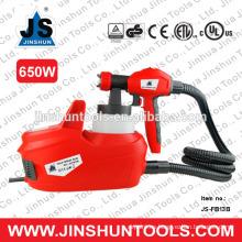 JS eléctrico hvlp piso a base de pintura en aerosol pintura pulverizador pistola pintor nuevo, JS-FB13B