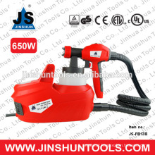 JS elétrica hvlp chão pulverizador spray de pintor de pintura de casa pintor arma nova, JS-FB13B