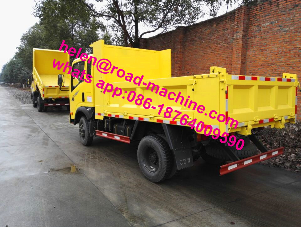 2-5 Ton Self-Loading Mini Dumper Truck