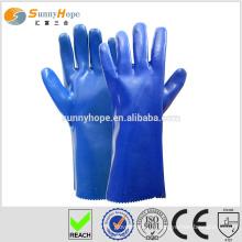 Gants nitrile gants tricotés gants résistant à l'huile