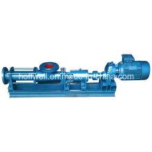 Pompe à vis unique G85-1 approuvée par CE d'eau