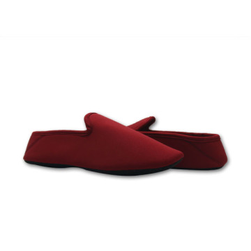 bedroom Burgundy shoes slippers for women