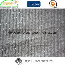 55% Polyester 45% Viskose Jacquard Soft Touch Herrenanzug Liner Futter