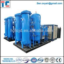 Concentrador do oxigênio com sistema do Psa para aplicações do hospital ou da indústria