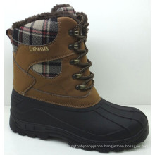 Fashion Fabric Snow Boots / Injection Shoes in High Quality (SNOW-190023)