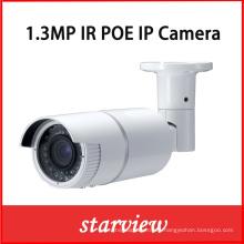 Cámara de red de la bala de la seguridad de la CCTV del IR IP de 1.3MP Poe (WH6)