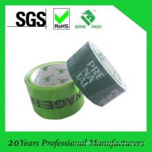 Fita impressa do OEM Fita acrílica da embalagem da caixa de BOPP Fita impressa do logotipo