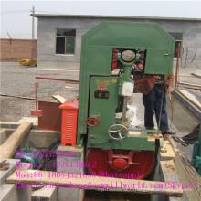 Machine à scie à ruban verticale avec chariot pour la coupe