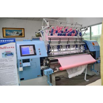 Yuxing 128 Inches Multi-Needle Shuttle Quilting Comforter Machine