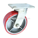 "heavy duty industrial caster, 8"" heavy duty pu castor,hercules caster wheel,shipping container parts"
