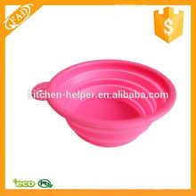 Non-toxic Wholesale Premium Silicone Pet Travel Bowl