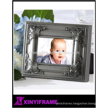 Modern Wooden Photo Hinged Double 5x7 Horizontal Picture Frame