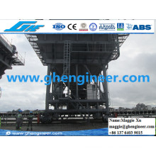 Gypsum Handling Generator Driven Movable Feeder Hopper