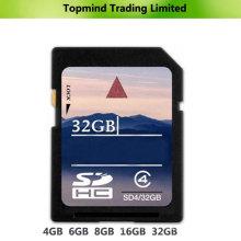 Carte mémoire SDHC SDHC 4GB 8GB 16GB 32GB 64GB