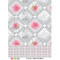 Popular Cheap PVC Printed Transparent Tablecloth (TJ0052) Lfgbchina Factory