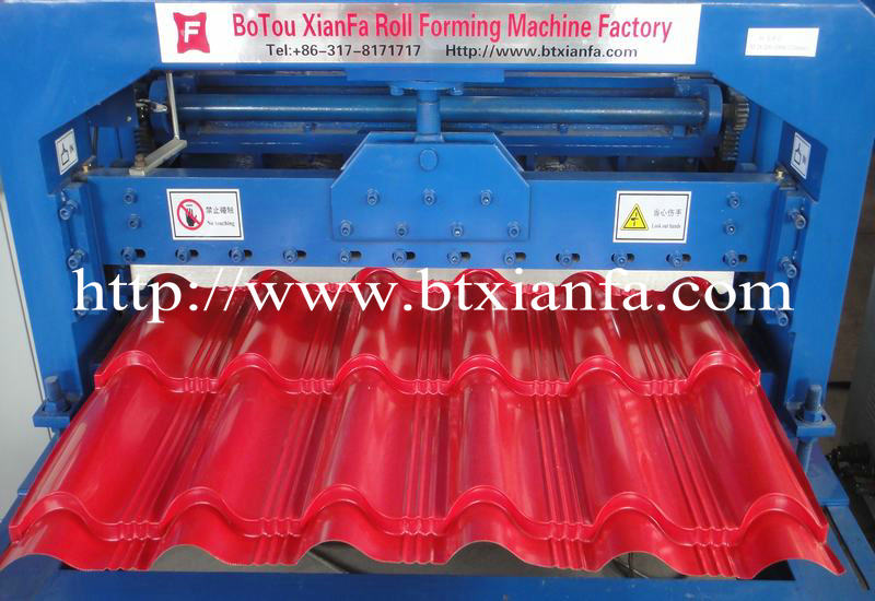 Roof Tile Sheet Rolling Forming Machine