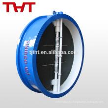 doble disco / doble puerta tipo oblea doble válvula de retención