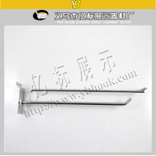 Direct Wholesale Supermarket Double Wire Slatwall Hooks With Price Tag