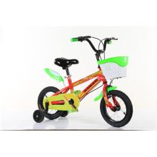 Vélo enfant en couleur rouge et bleu