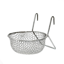 Chinese Suppliers Support Metal Wire Mesh Fry Basket with Handles