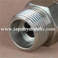aeroquip hydraulic flexible hose parker cylinder fittings