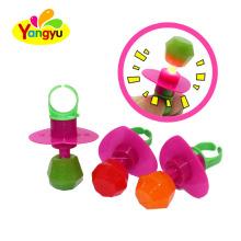 Cheap Halal Lighting up Diamond Ring Toy Candy