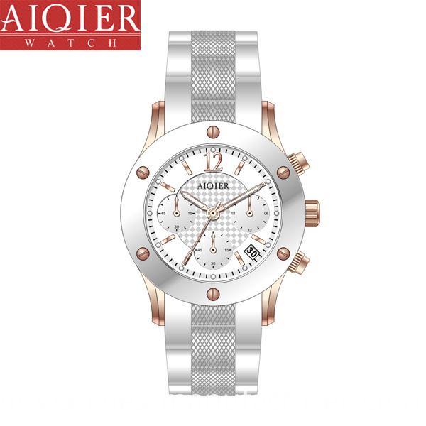 White Ceramic Sport Watch