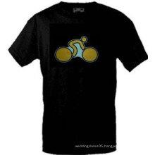 [Stunningl]Wholesale 2009 fashion hot sale T-shirt A40,el t-shirt,led t-shirt