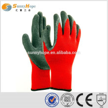 10 Gauge red palm industrial work gloves