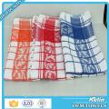 Cheap heat resistance 40x60cm checked design cotton dishtowels