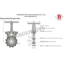 gate valve drawing