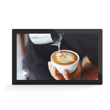 27 inch ultra thin indoor advertising display screen wall mount lcd digital signage
