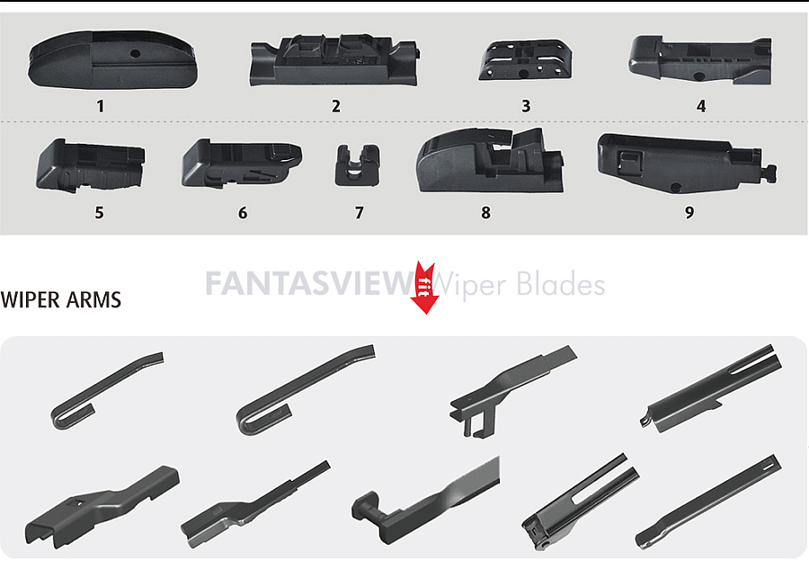 Multi-Function Flat Wiper Blade