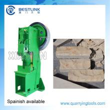 Máquina dividida de la piedra caliza del precio bajo para la cara natural