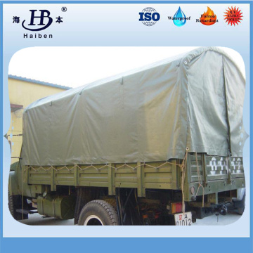 High quality pvc truck tarp with metal rings