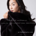 Lady Kopenhagen Mink Fur Reversible Overcoat