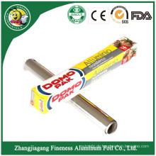 Aluminiumfolie Wickelrolle für Lebensmittelverpackungen