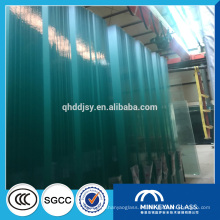hojas de vidrio grandes 3660mm * 2440mm vidrio flotado claro para ventanas de China