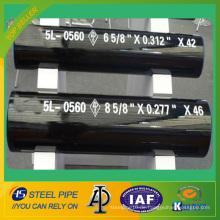 API 5L PSL1 Kaltgezogenes nahtloses Stahlrohr