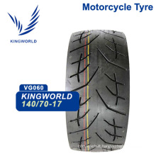 China Tubeless Motorcycle Tyre 140/70-17