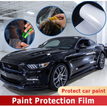 clear paint protection film truck