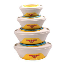 4 PC Food Warmer with Steel Inner
