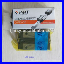 Rail de guidage linéaire PMI à faible prix et bloc MSR45S