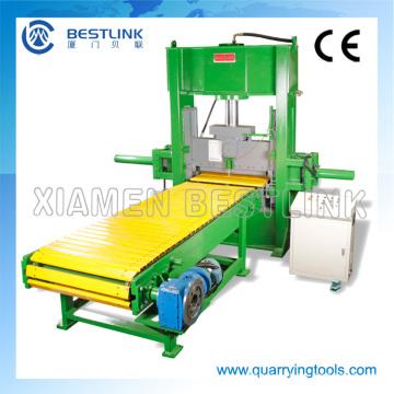 Tipo de marco C Máquina de corte y separación de piedras hidráulicas