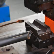 Metal angle steel tube hole punching machine