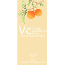 Crème hydratante pour les mains blanchissante aux enzymes VC
