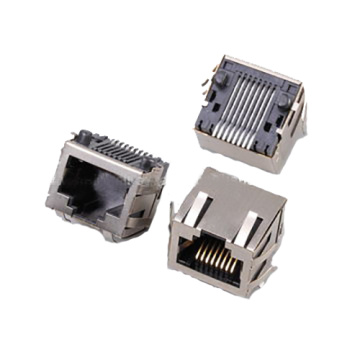 CONNECTEUR SMT RJ45 SIDE ENTRY