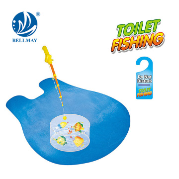 Hot selling Toilet Sports Toys Series Toilet Fish Game For funning time