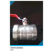 Lever DIN Female Bsp Threaded Brass Ball Valve